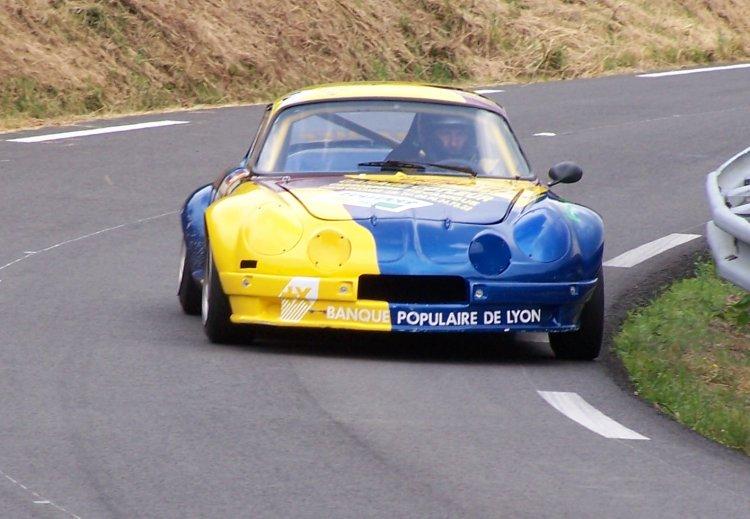 Marc Cotleur sur son Alpine A110