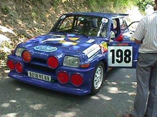 Alain Bertrand sur son R5 Turbo numéro 198