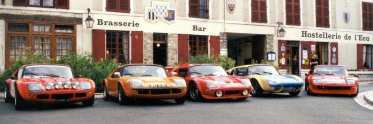 Les 5 Jidé réunies en Sologne en 2000