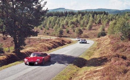 3 des 5 Jidé sur la route de la ronde de Ventadour en 2003