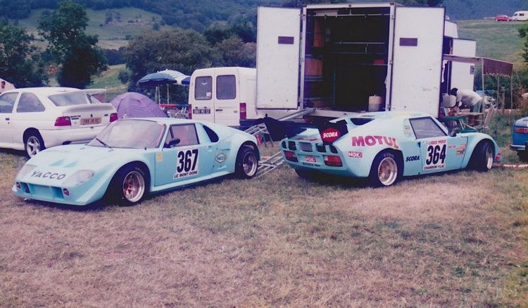 Les autos de Marc Lestage et Joël Cazalens